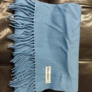 YSL scarf Blue